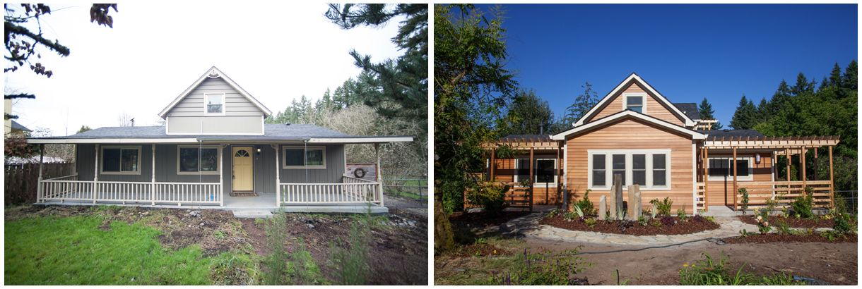 Salmon Creek Before and After Image 1