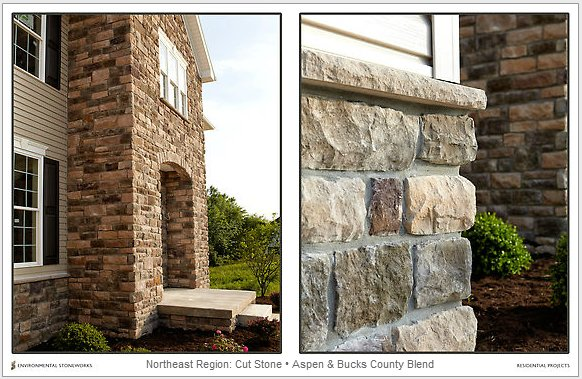 Siding contractors with vinyl siding and more siding options for Mortarless stone veneer panels